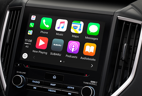 Apple CarPlay<sup>*1</sup> and Android Auto<sup>*2</sup>