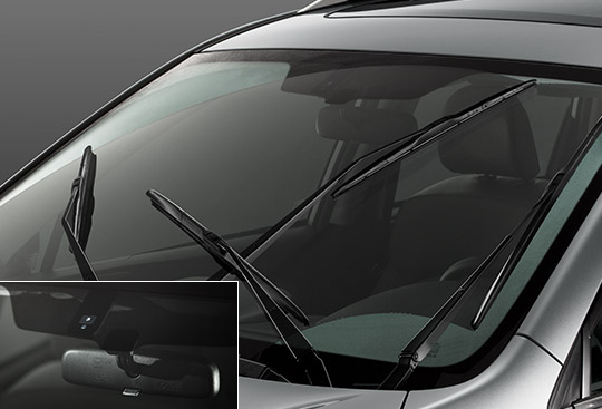 Automatic Rain-sensing Windshield Wipers