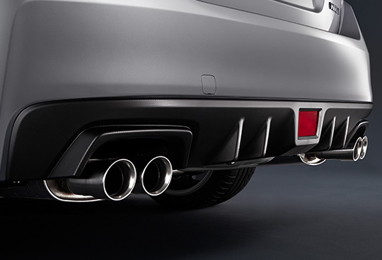 Rear Diffuser and Twin Dual Tail Muffler