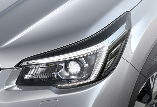 LED Headlamps with Auto-leveliser